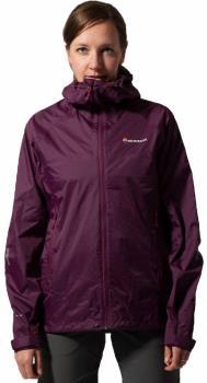 Montane Meteor Women's Waterproof Hiking Jacket UK 10 Berry