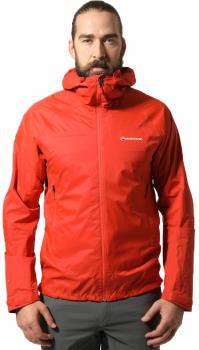 Montane Adult Unisex Meteor Pertex Waterproof Hiking/Walking Jacket, S Orange
