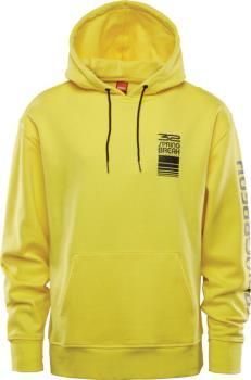 thirtytwo Springbreak Repel Ski/Snowboard Hoodie, L Yellow