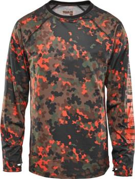 thirtytwo RideLite Long Sleeve Thermal Base Layer Top, L Camo