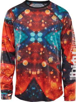 thirtytwo RideLite Long Sleeve Thermal Base Layer Top XL Black/Print