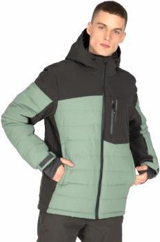 Protest Mount 20 Men's Ski/Snowboard Jacket, M Green Spray
