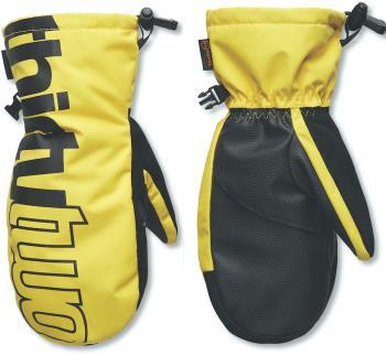 thirtytwo Corp Ski/Snowboard Gloves, L/XL Gold