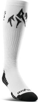 thirtytwo Jones Bamboo ASI Snowboard Socks, S/M White