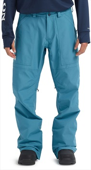 Burton Adult Unisex Ballast Gore-Tex Ski/Snowboard Pants, S Storm Blue