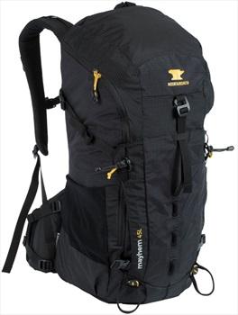 Mountainsmith Mayhem 45 Ultralight Hiking Backpack, 45L Heritage Black
