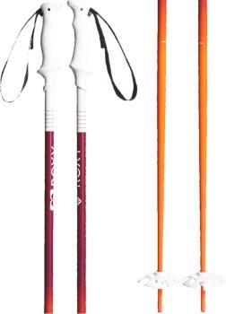 Roxy Kaya Ski Poles, 125cm Orange