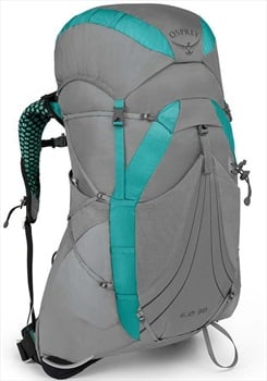 Osprey Eja 38 Medium Women's Light Backpacking Pack 38L Moonglade Grey