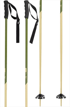 Faction Candide Thovex Pair Of Ski Poles, 125cm Khaki/Beige
