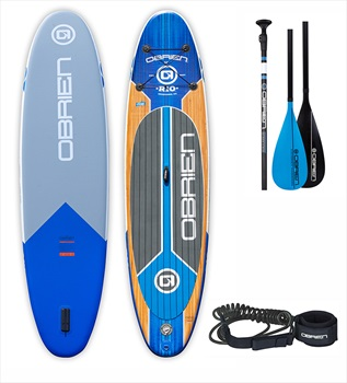 O'Brien Rio ISUP Paddleboard With Paddle and FREE Leash, 11' Blue 2020