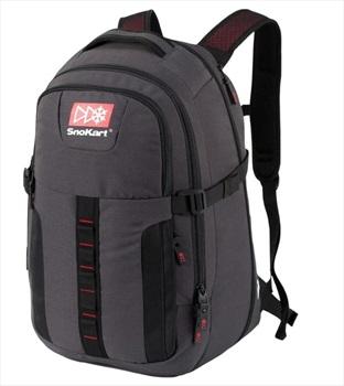 SnoKart Zoom Pak Ski/Snowboard Backpack, 45L Black