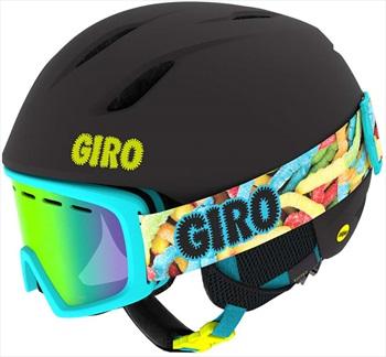 Giro Launch Combo Kids Ski/Snowboard Helmet + Goggles XS Black