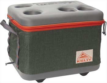 Kelty Folding Cooler Collapsible Cool Box, 25l Green