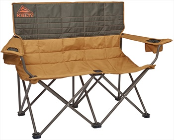 Kelty Loveseat Padded Camping Chair, Double, Brown