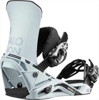 Salomon Adult Unisex District Snowboard Binding, M Sterling Blue 2020