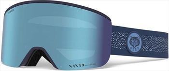 Giro Ella Vivid Royal Women's Ski/Snowboard Goggles, M Blue Meow
