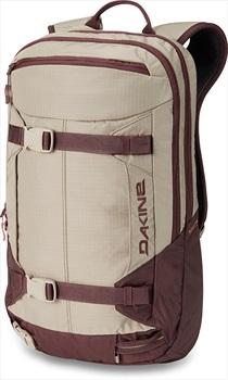 Dakine Mission Pro Women's Snowboard/Ski Backpack, 18L Stone