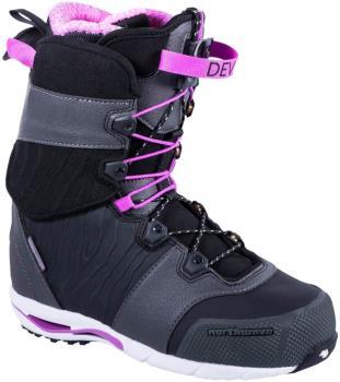 Northwave Devine Women's Snowboard Boots, UK 5.5 Black 2019