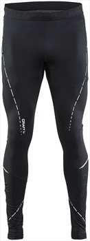 Craft Essential Running Quick Dry Legging/Tights, S Black