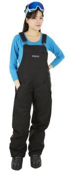 Airblaster Freedom Bib Women's Ski/Snowboard Pants, M Black