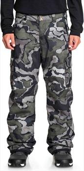 Quiksilver Porter Insulated Snowboard/Ski Pants, L Black Sir Edwards