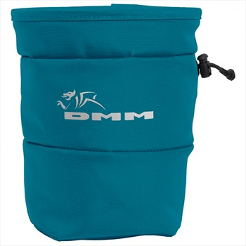 DMM Tube Rock Climbing Chalk Bag, OS Blue