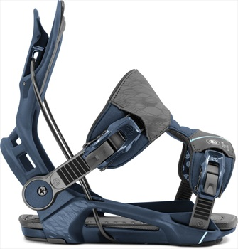 Flow Mayon Fusion Womens StepIn Snowboard Bindings, L Black 2020