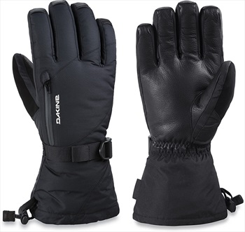 Dakine Leather Sequoia Gore-Tex Women's Snowboard/Ski Gloves XS Black