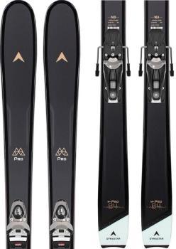 Dynastar M-Pro 84 W NX 11 GW Women's Skis, 156cm Black/Blue