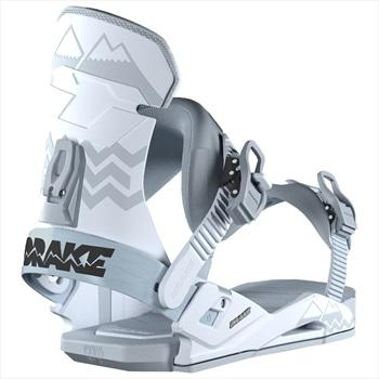 Drake Adult Unisex Reload Snowboard Bindings, M/L Ice Grey 2019