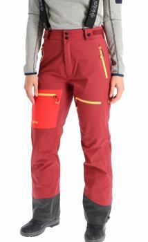 Kilpi Keku Women's Ski/Snowboard Pants, UK 12 Dark Red