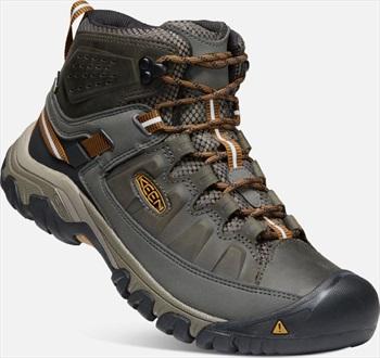 Keen Adult Unisex Targhee Iii Mid Wp Hiking Boots, Uk 8.5 Black Olive/Golden Brown