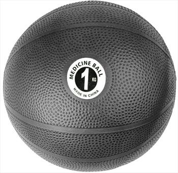 Fitness Mad PVC Medicine Ball, 1KG Black