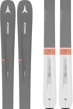 Atomic Vantage 86 C W M10 Women's Skis, 165cm Grey/Pink 2021