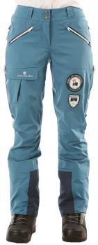 Amundsen Peak Panther Womens Ski/Snowboard Pants, L Faded Blue