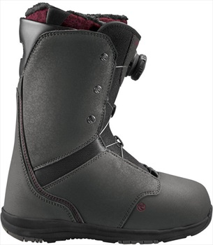 Flow Onyx Coiler Women's Snowboard Boots, UK 4.5, Slate, 2017