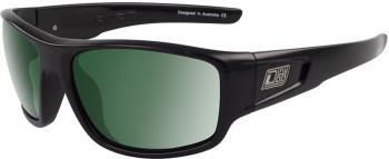 Dirty Dog Muffler Green Polarized Sunglasses, L Black