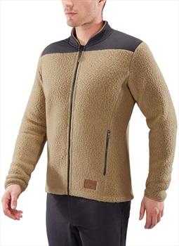 Haglofs Pile Fleece Lightweight Full-Zip Jacket, M Oak/Slate