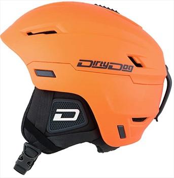 Dirty Dog Meteor Snowboard/Ski Helmet, S Orange Black