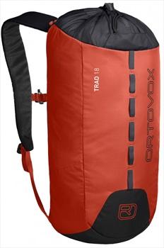 Ortovox Trad 18 Backpack Lightweight Climbing/Gym Bag 18L Orange