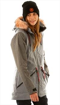 Armada Lynx Insulated Women's Ski/Snowboard Jacket, M Shark Skin