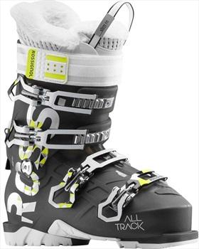 Rossignol Womens Alltrack Pro 100 W Womens Ski Boots, 24/24.5 Light Black 2019