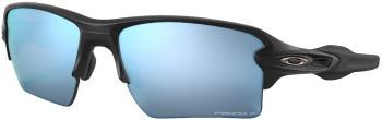 Oakley Flak 2.0 XL Prizm Deep Water Polarized Sunglasses, M Black