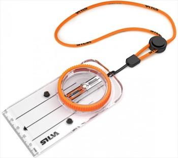 SILVA Race Plate Orienteering Compass Magnetic Equator, Magnetic N & S