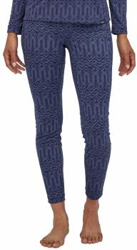 Patagonia Capilene Midweight Women's Thermal Bottoms, M Classic Navy