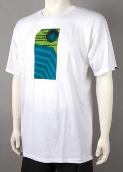Liquid Force Tech Deck T Shirt S White