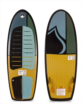 "Liquid Force Happy Pill Wakesurfer, 4'10"" Grey Yellow"