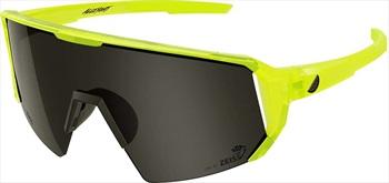 Melon Adult Unisex Alleycat Smoke Performace Sunglasses, M/L Yellow/Black