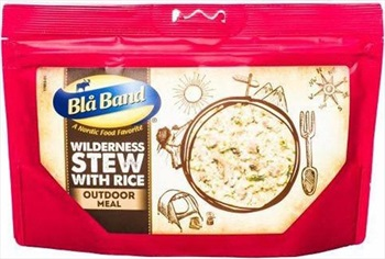 Bla Band Wilderness Stew With Rice Camping & Hiking Food, Single Pouch