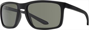 Dragon Melee G15 Green Lens Sunglasses, Matt Black